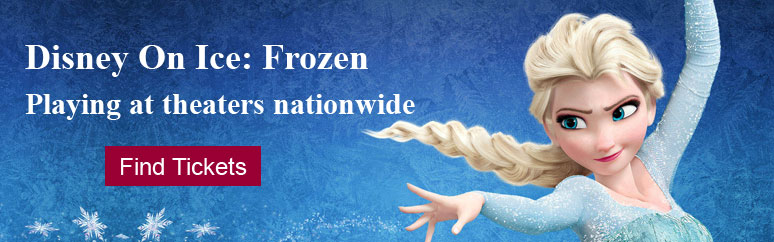 Disney On Ice Frozen Tickets